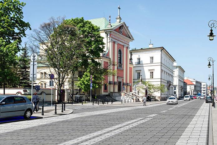 Spacerem po Warszawie: Miodowa