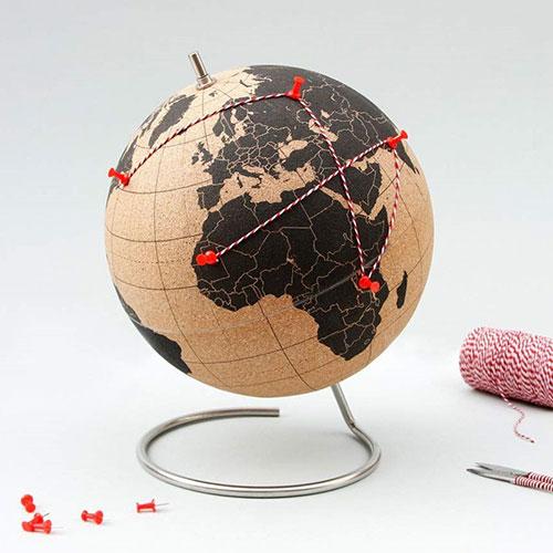 korkowy globus